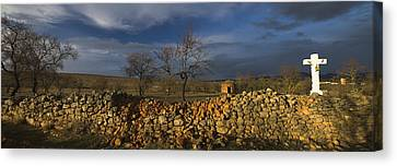 Old Shepherd's Hut Canvas Print by Guido Montanes Castillo