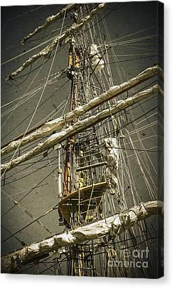 Old Ship Canvas Print by Carlos Caetano