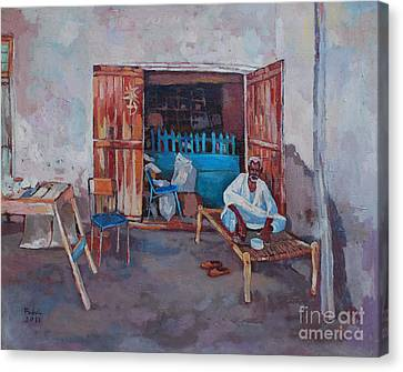 Old Shop Suakin Canvas Print by Mohamed Fadul