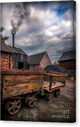 Old Smoke Canvas Print by Adrian Evans