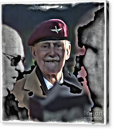 Old Soldier Canvas Print by Paul Stevens