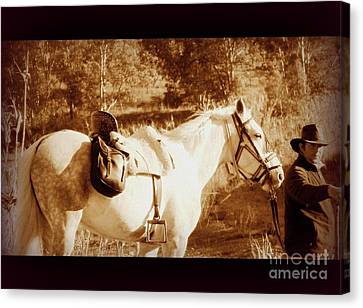 Canvas Print featuring the photograph Old Spain by Clare Bevan