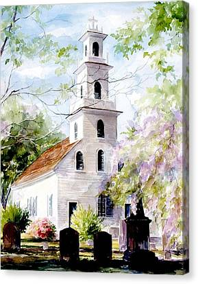 Old St. David's Church Canvas Print