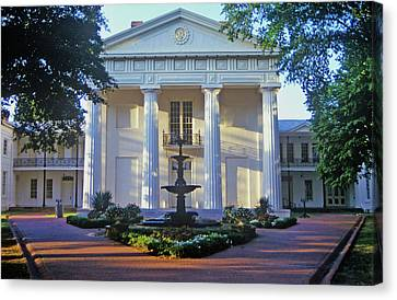 Old State House In Little Rock, Arkansas Canvas Print