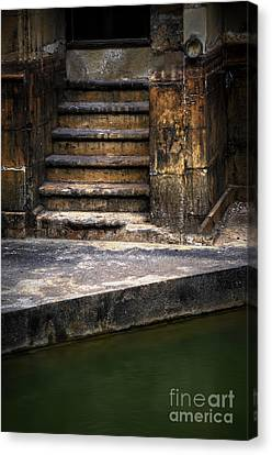 Old Steps Canvas Print by Svetlana Sewell