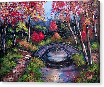 Old Stone Bridge Canvas Print