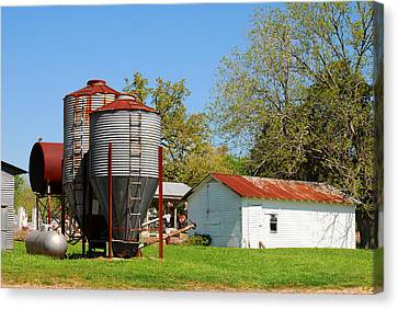 Old Texas Farm Canvas Print