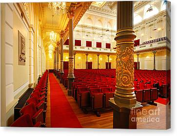 Old Theatre Canvas Print