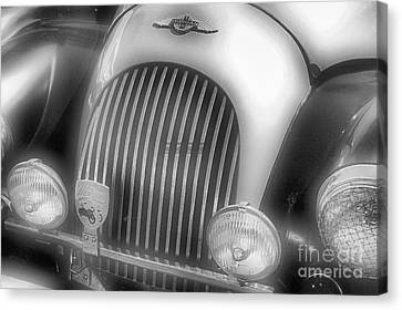 Canvas Print featuring the photograph Old Time Car 2 by John S