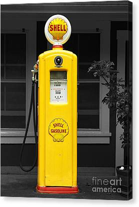 Old Time Gas Pump Canvas Print