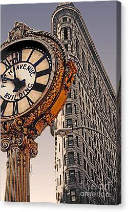 Old Time - Nyc Canvas Print