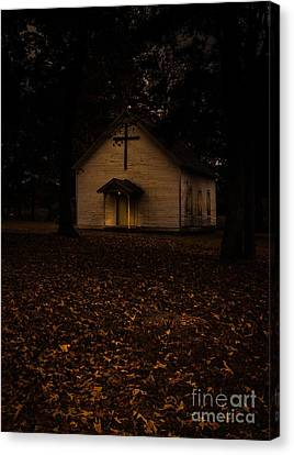 That Old Time Religion Canvas Print by Robert Frederick