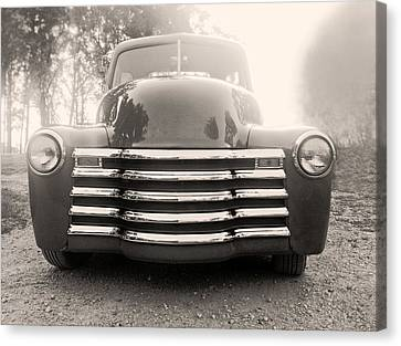 Old Time Truck Canvas Print by Don Spenner