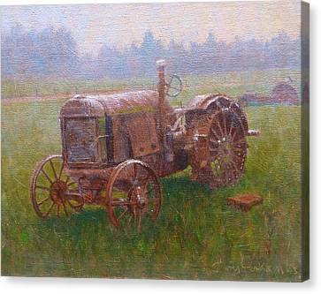 Old Timer Canterbury Canvas Print by Terry Perham