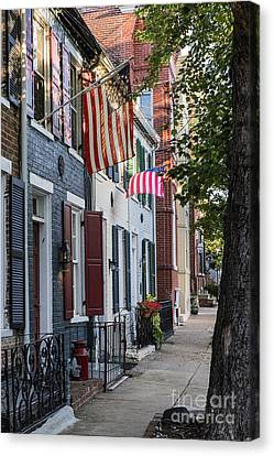 Old Town Alexandria Canvas Print by John Greim
