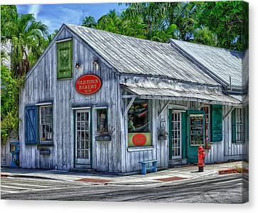 Old Town Bakery Canvas Print