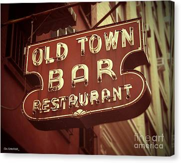 Old Town Bar - New York Canvas Print by Jim Zahniser
