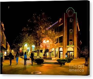Old Town Christmas Canvas Print by Jon Burch Photography