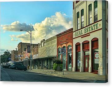 Old Town Elgin Canvas Print by Linda Phelps