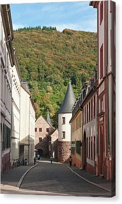 Old Town Heidelberg, Germany Canvas Print by Michael Defreitas