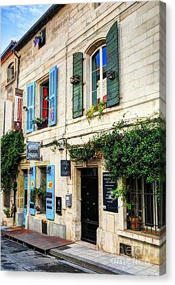 Old Town Of Arles 3 Canvas Print