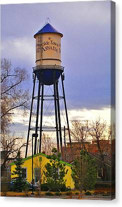 Old Towne Arvada Canvas Print