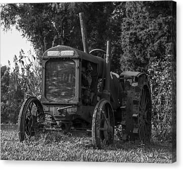 Old Tractor Canvas Print by Amber Kresge