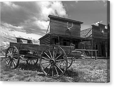 Old Trail Town Canvas Print