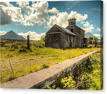 Old Train Station Canvas Print by Craig Brown
