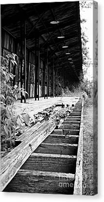 Old Train Station Canvas Print by Randall  Cogle