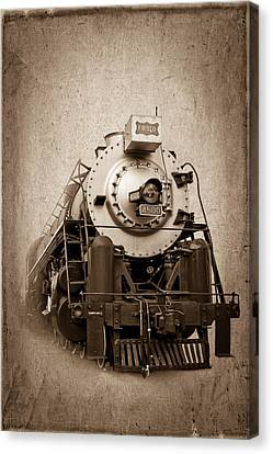 Old Trains Canvas Print by Doug Long
