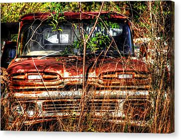 Old Truck 02 Canvas Print by Andy Savelle