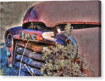 Old Truck 03 Canvas Print by Andy Savelle