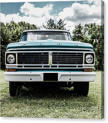 Old Ford Truck For Sale Canvas Print