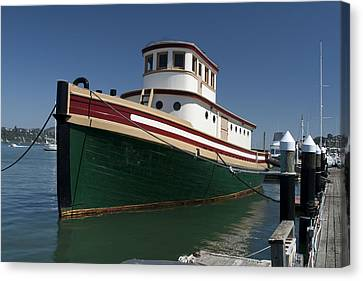 Old Tug Boat Sausalito Ca Img2039 Canvas Print by Greg Kluempers