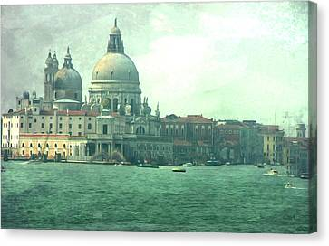 Canvas Print featuring the photograph Old Venice by Brian Reaves