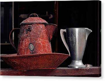 Old Vessels Canvas Print by Kae Cheatham