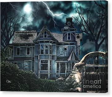 Old Victorian House Canvas Print