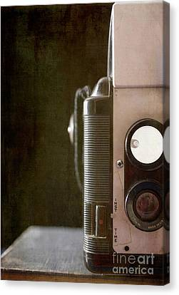 Old Vintage Film Camera Canvas Print