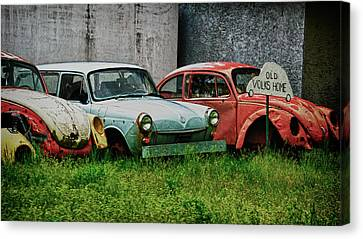 Old Volks Home Canvas Print