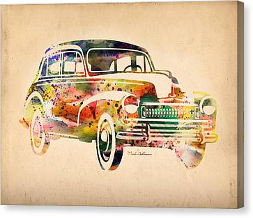 Old Volkswagen Canvas Print by Mark Ashkenazi