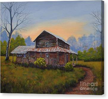 Old Walker Homestead Canvas Print