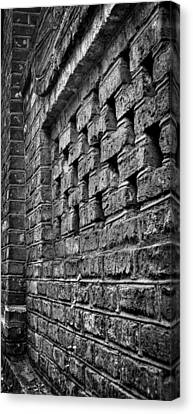 Old Wall Architectural Detail Canvas Print