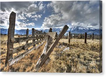 Old Washoe Corral Canvas Print by Dianne Phelps