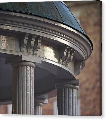 Old Well In Detail - Unc - Chapel Hill Canvas Print by Matt Plyler