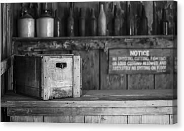 Judge Roy Bean Canvas Print - Old West Saloon by Amber Kresge