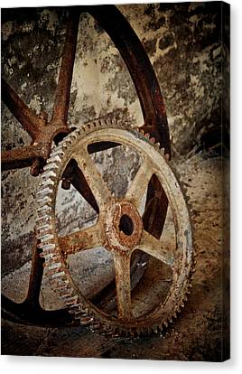 Old Wheels Canvas Print by Odd Jeppesen