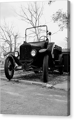 Old Wheels Canvas Print by Off The Beaten Path Photography - Andrew Alexander