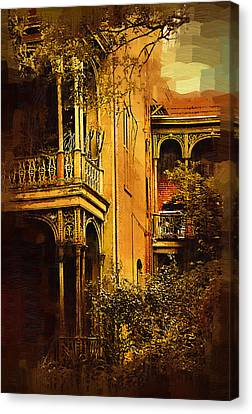 Old World Charm Canvas Print by Kirt Tisdale