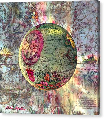 Old World Poppling Canvas Print by Robin Moline